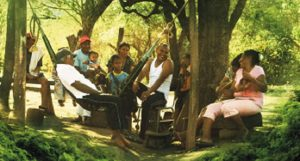 Filmszene aus dem Film la buena vida - das gute Leben