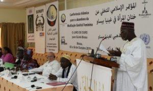 Redner bei der Islamkonferenz gegen Genitalverstümmelung