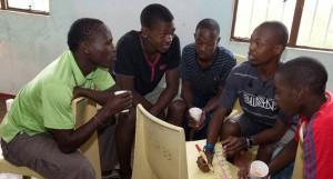 Jugendliche-bei-der-Arbeit--STEPS--Suedafrika