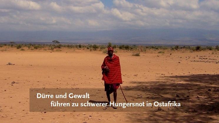 Massai in Trockensavanne in Kenia, Foto: Vicy Zwankhuizen