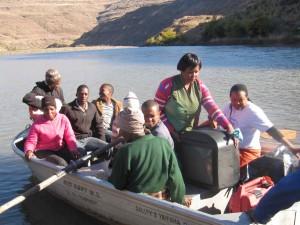 Unterwegs zur Vorfuehrung von STEPS for the future in Südafrika