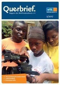 Der Querbrief ist das Mitgliedermagazin des Weltfriedensdienstes. In dieser Ausgabe beschäftigen wir uns mit dem Medium Film als Werkzeug für sozialen Wandel.