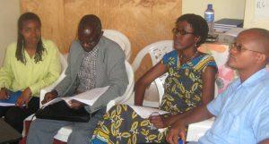 TeilnehmerInnen eines Workshops von Mi-Parec in Burundi