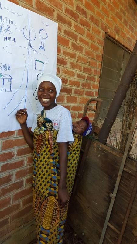 Mariam Teenagermutter Malawi