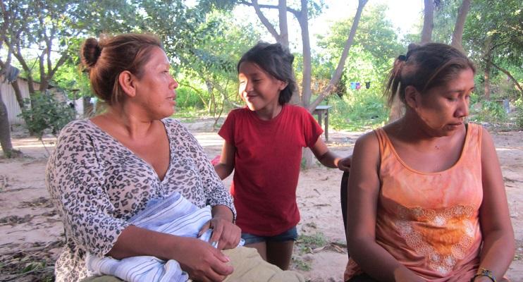 Claudias Töchter Argentinien Indigene