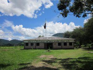 Blick auf die Schule für bäuerliche Familien in Argentinien