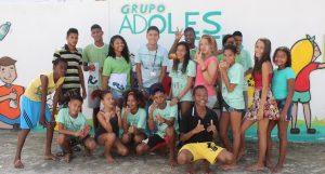 Peer Education in Brasilien: Jugendliche Protagonisten des Projekts AdoleScER zu Gemeindeentwicklung und Gewaltreduktion in Recife, Brasilien.