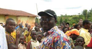 Dieudonné Kabinakanwa, Präsident von MI-PAREC bei Friedensgesprächen.